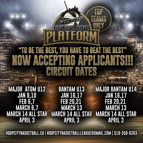 PLATFORM circuit dates
