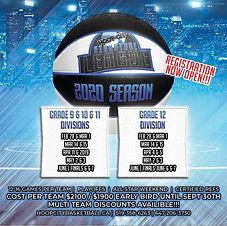 HOOP CITY SIGNATURE league flyer highsch