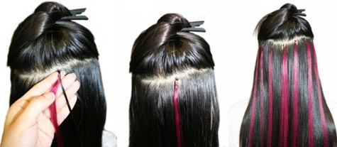 What are micro loop hair extensions and how to use them what are micro loop hair extensions and how to use them brazilian peruvian human hair extensions remy hair extensions cheap pmusecretfo Image collections