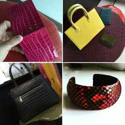 Crocodile Duffle Bags