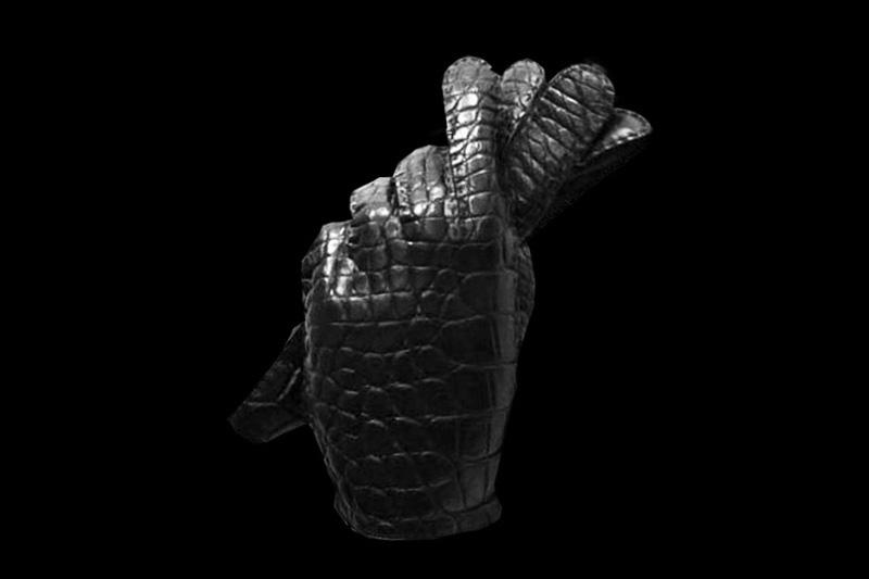 Crocodile Gloves