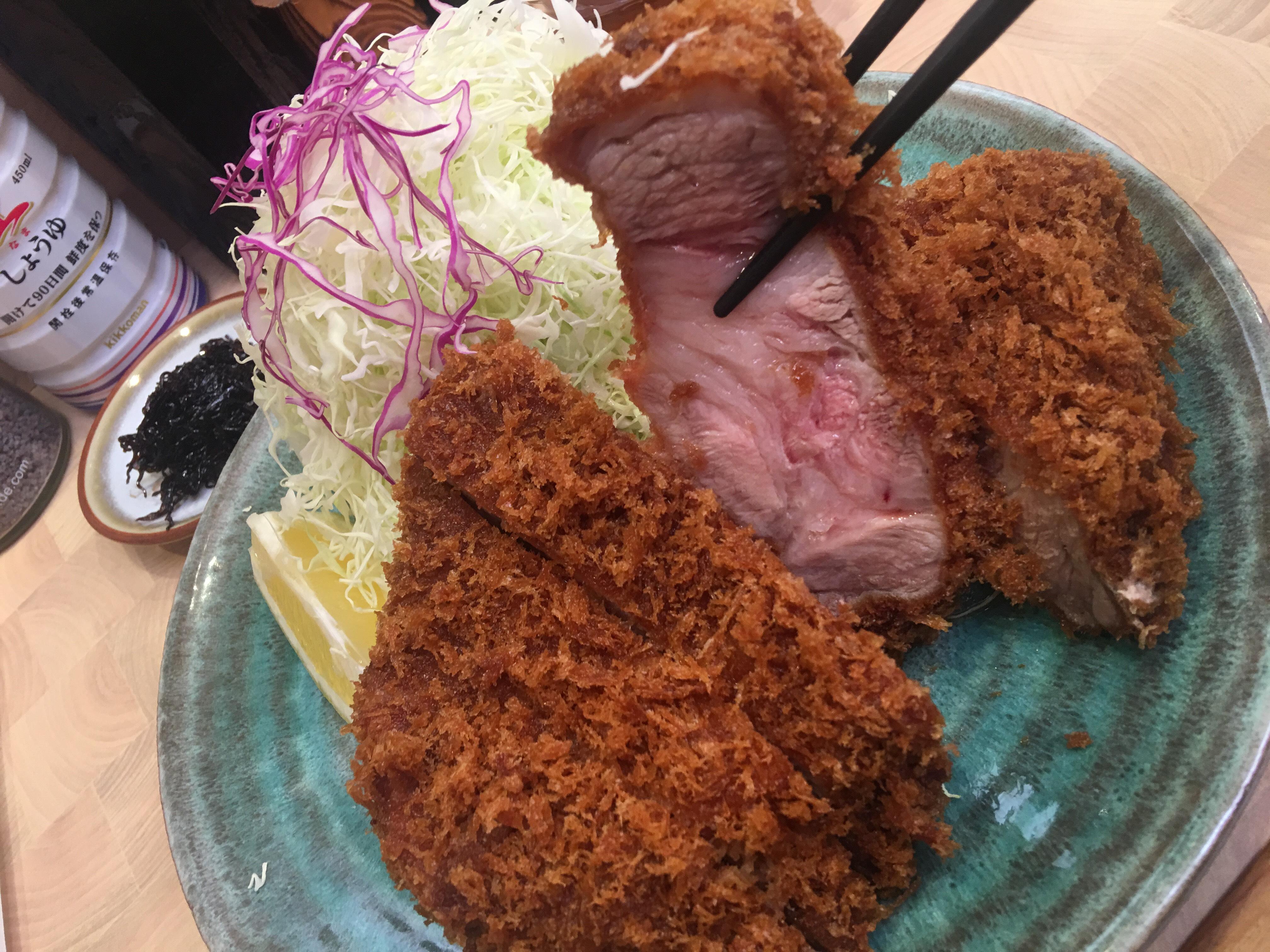 The best tonkatsu in Japan (Tonkatsu Aoki)
