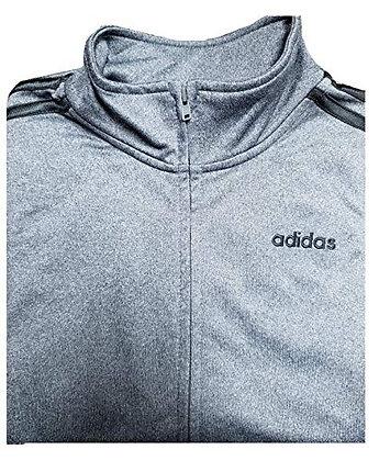 adiidas Youth 3-Stripes Track Jacket (Dark Grey, S (8))