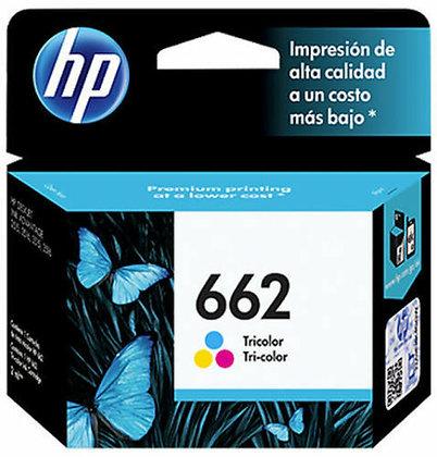 HP 662 TRI-COLOR INK GENUINE CARTRIDGE HP DESKJET CZ104AL
