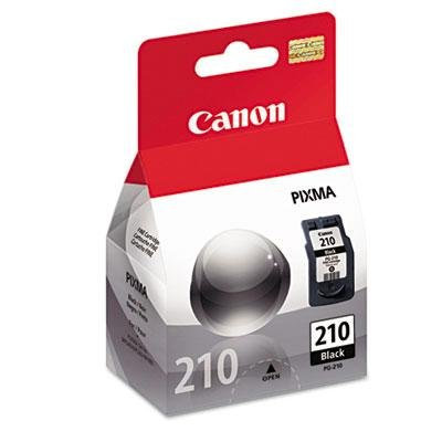 CANON PG-210 OEM Ink Cartridge, BLACK