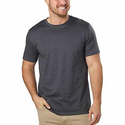 DKNY Men's Short Sleeve Tee (2XL, Grey)