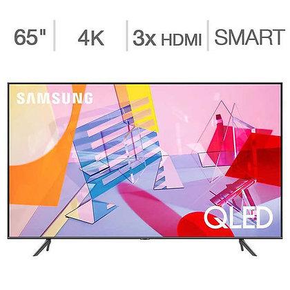"Samsung 65"" Class - OPEN BOX - Model Q6 QN65Q6DTA - 4K UHD QLED LCD TV"