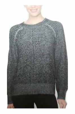 Ellen Tracy Ladies' Roll Neck Sweater (Black Marl, Large)