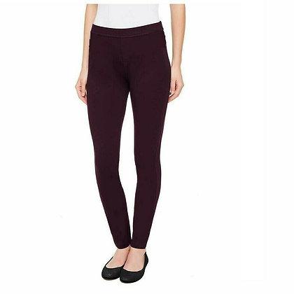 DKNY Ladies' Pull-on Ponte Pant (Color Aubergine, Size XLarge)