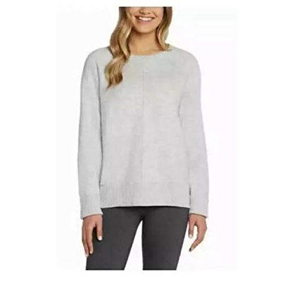 Max & Mia Butter Soft Seam Front Sweater Pullover, Heather Grey, Small