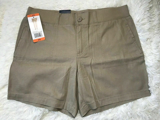 Tommy Hilfiger Women's Wideband Shorts, Navy (Cobblestone, XS)