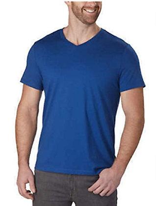 Calvin Klien Men's V-Neck T-Shirt (Gravity, Medium)