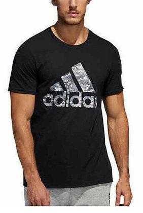 Adidas Men's Linear Fill Print Box T-Shirt (Black, 2XL)