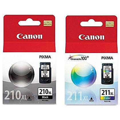 Canon CL-211 XL, PG-210 XL Cartridge (1, Black & Color)