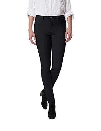 Buffalo David Bitton Women's Mid Rise Stretch Skinny Pants (16/36) Black