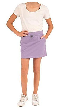 Boston Traders Girl's Cotton French Terry Skort (Chalk Violet, M(9-10))