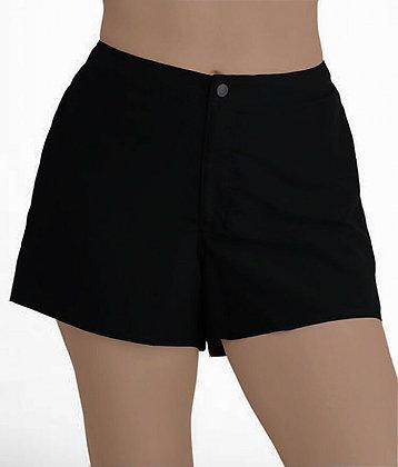 Reef Women's Flattering Board Shorts Swim Suit - BLACK - SMALL