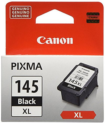 GENUINE CANON CARTRIDGE 145 XL BLACK INK