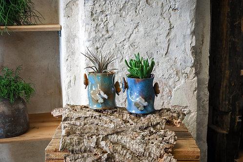 Keramikinė vaza Drugeliai