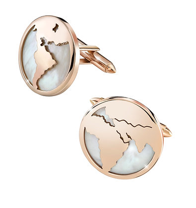 Mother of Pearl Conqueror Cufflinks