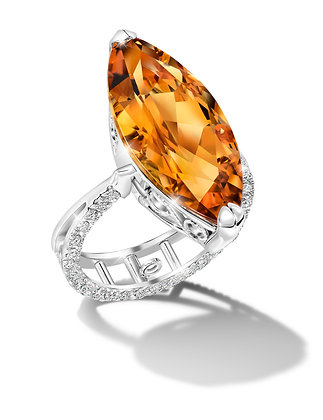 Citrine Convertible Ring