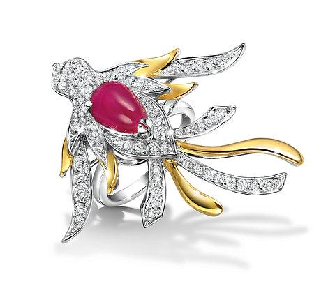 Soaring Phoenix Ring