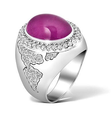 Conqueror Ruby Ring