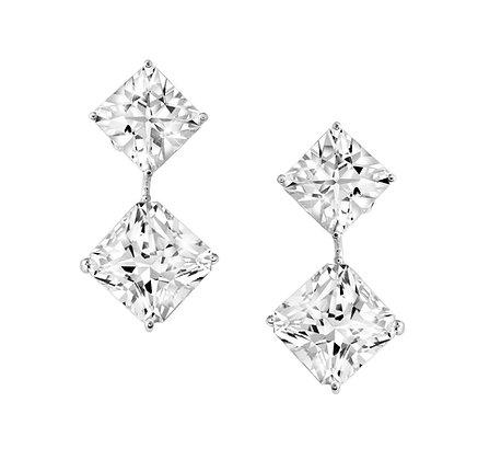 Square Danburite Earrings