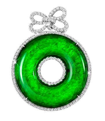 Jadeite Torus Pendant