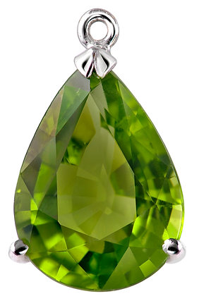 Peridot Tear Drop