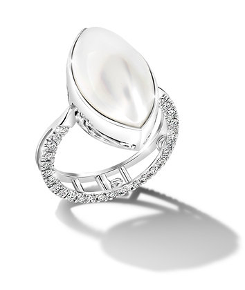 Mabe Pearl Convertible Ring