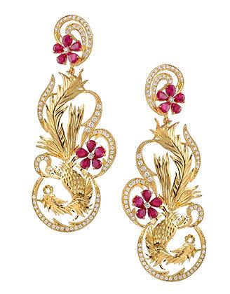 Dance of the Phoenix Earrings