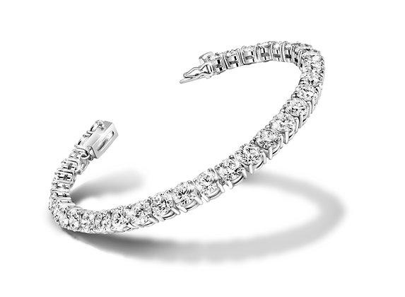 White Zircon Bracelet