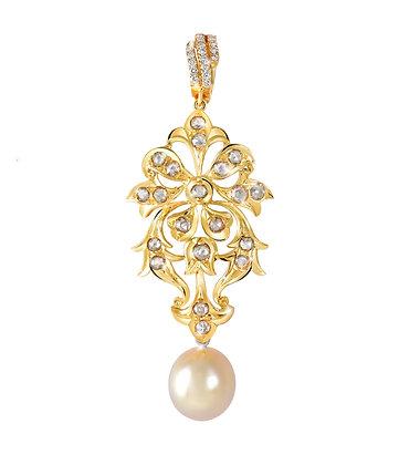 Nyonya Pearl Dangling Pendant