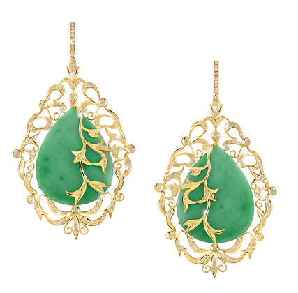 Nyonya Jade Earrings