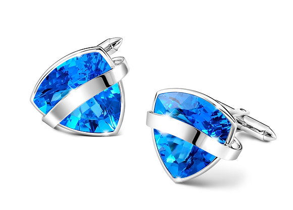 Blue Topaz Cufflinks