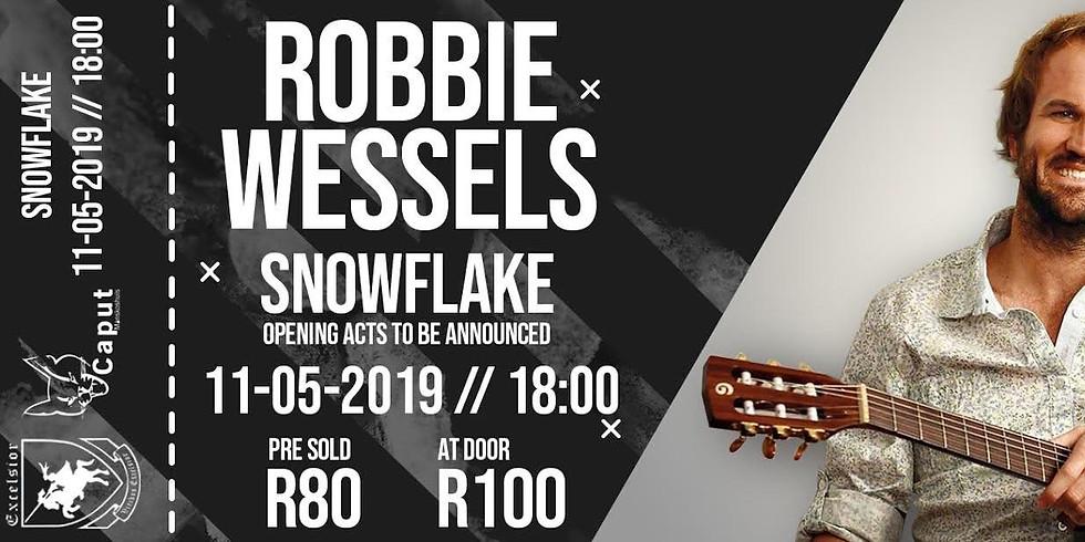 Robbie Wessels Live @ Snowflake 11 May