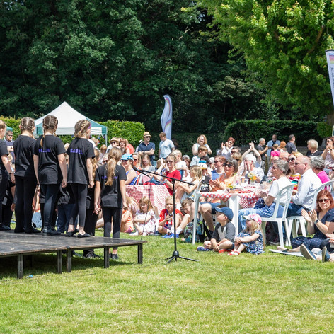 Bosworth Stars perform at The Big Weekend, June 2019
