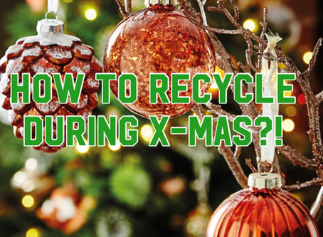What can you recycle during Christmas!