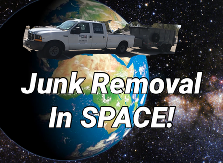 Junk Removal in Space Starting 2025?!