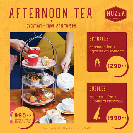 Mozza's Afternoon Tea