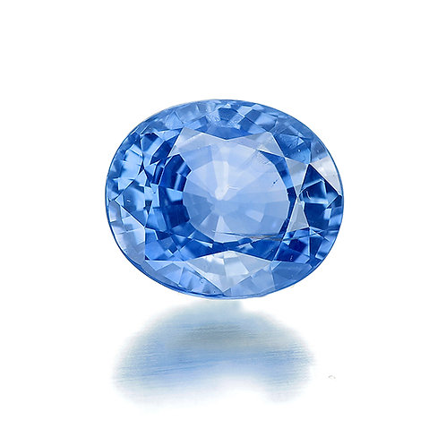 Natural Unheated Blue Sapphire 3.14ct