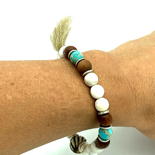 Summer Blues Healing Bracelets