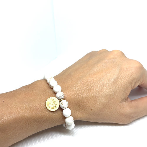 White Turquoise bracelet