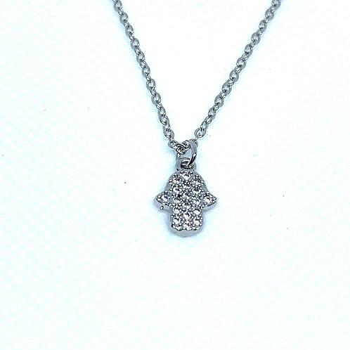 Small Hamsa Necklace