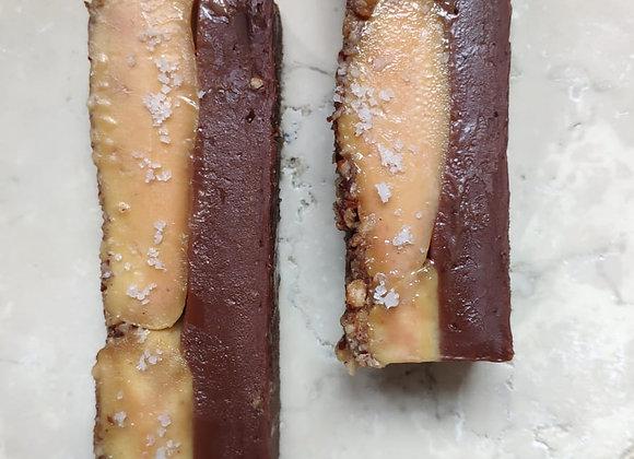 Ganache au chocolat noix de pécan - foie gras
