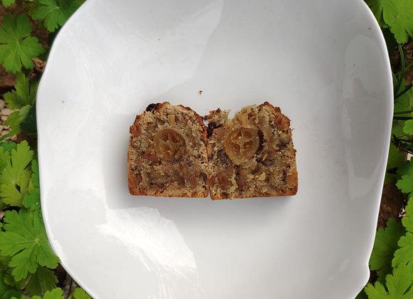 3 Gâteaux aux noix, cumin, cœur de Kumquat