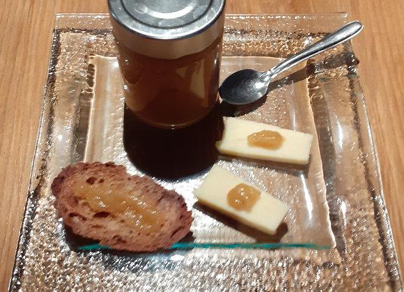 Confiture d'ananas au foie gras et au poivre d'Idonésie