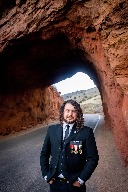 Jesse James Collins (Savage) — U.S. Army Sergeant at Red Rocks, Colorado, USA