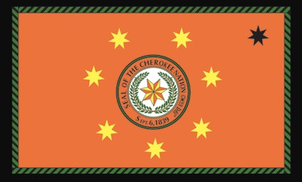 The Seal of the Cherokee Nation